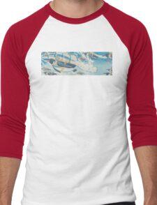 Jetpack Penguins Men's Baseball ¾ T-Shirt