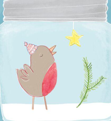 Christmas Jar Sticker