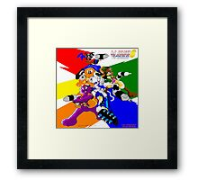 Kid Soldier PCA 6 Game Picture 1 Framed Print