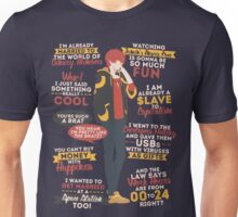 707 Quotes Unisex T-Shirt