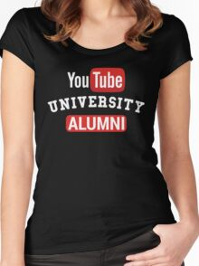 YouTube University Alumni Women's Fitted Scoop T-Shirt
