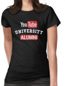 YouTube University Alumni Womens Fitted T-Shirt