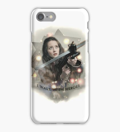 Walk With Heroes iPhone Case/Skin