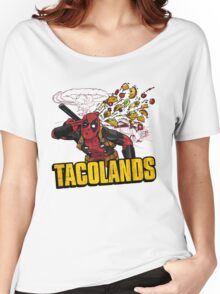 TACOLANDS Women's Relaxed Fit T-Shirt