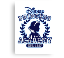 Disney Princess Academy Canvas Print