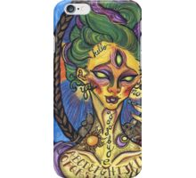 Pythoness (Ouija Board Tattoo) iPhone Case/Skin