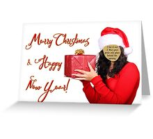 Merry Xmas & Happy New Year - Place your photo! Greeting Card