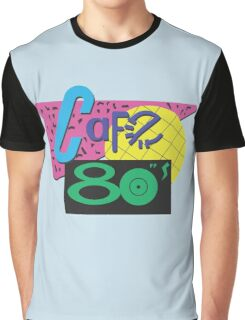 Back To The Cafe 80's Graphic T-Shirt