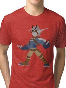 Jak 2 Renegade- Dark Jak Tri-blend T-Shirt