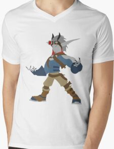 Jak 2 Renegade- Dark Jak Mens V-Neck T-Shirt