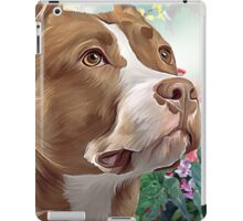 Pit Bull Painting  iPad Case/Skin