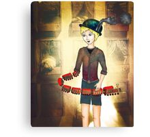 Boyhood Train Canvas Print