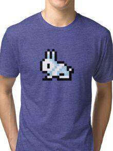 Pixel Bunny - Terraria Tri-blend T-Shirt