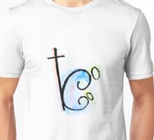color squiggly mary Unisex T-Shirt