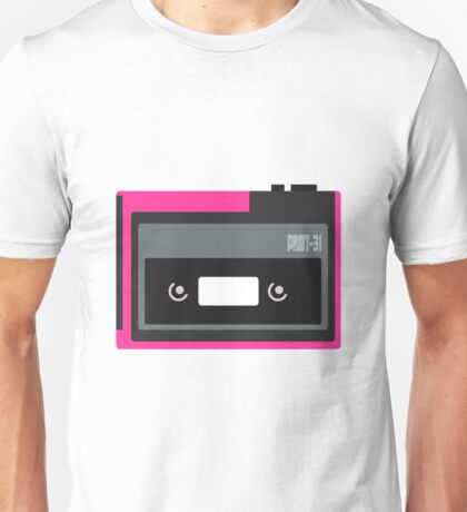 80s Portable Audio Tape Player Unisex T-Shirt