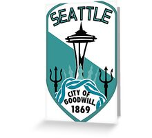 Rep Your City: Seattle Greeting Card