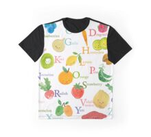 Farmer's Market A to Z (for Calendar) Graphic T-Shirt