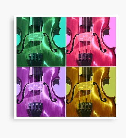 The Colors of Sound Canvas Print