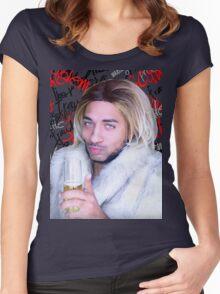 ★ Joanne ★ Women's Fitted Scoop T-Shirt