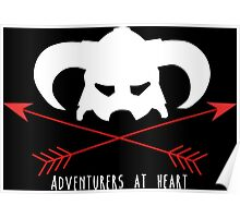 Adventurers at heart Poster