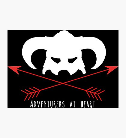 Adventurers at heart Photographic Print