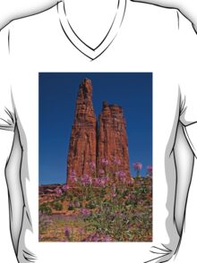 Spider Flowers and Spider Rock T-Shirt