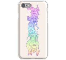 Totem Girls - pastel iPhone Case/Skin