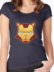 iron cat Women's Fitted Scoop T-Shirt