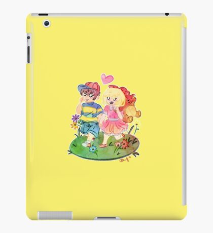 Ness and Paula iPad Case/Skin