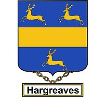 Hargreaves Coat of Arms (English) Photographic Print