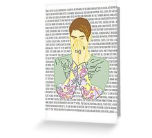 Stefon Greeting Card