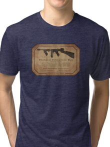 Thompson Submachine Gun. Tri-blend T-Shirt