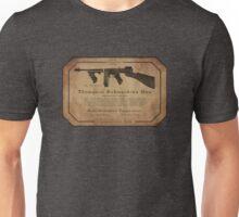Thompson Submachine Gun. Unisex T-Shirt