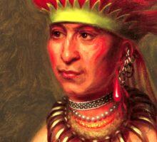 Chief Shaumonekusse Sticker