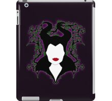 Maleficent (White) iPad Case/Skin