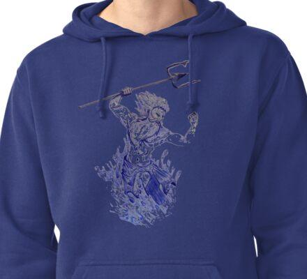 Poseidon  Pullover Hoodie