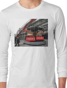 Corporate Censorship No.2 (Paris 2012) Long Sleeve T-Shirt