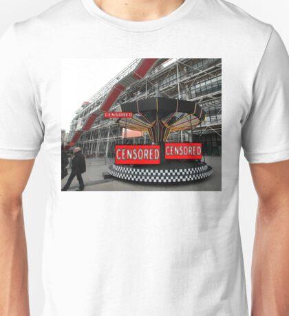 Corporate Censorship No.2 (Paris 2012) Unisex T-Shirt