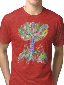Tree of Life 2 Tri-blend T-Shirt