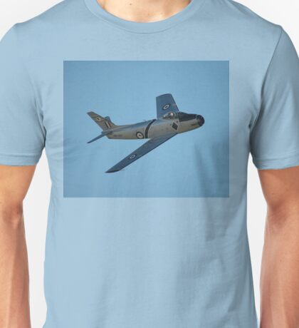The Sabre Is Back, Temora Airshow, Australia 2009 Unisex T-Shirt