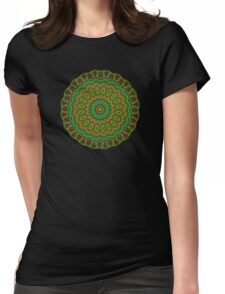 Happi Mandala 14 Womens Fitted T-Shirt