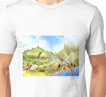 Flying out of Capira Unisex T-Shirt