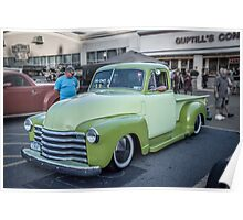 Two Tone Chevy Poster