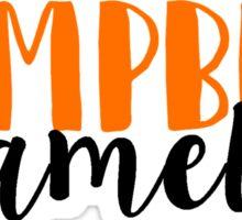Campbell Camels Sticker