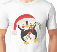 cute christmas penguin  Unisex T-Shirt