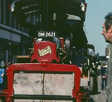 Fowler steam roller Traction Engine display Birmingham England 198405130027  by Fred Mitchell