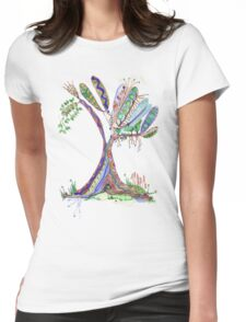 Tree of Life 4 Womens Fitted T-Shirt