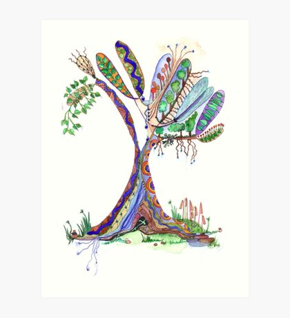 Tree of Life 4 Art Print
