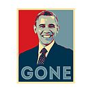 Obama GONE by TinaGraphics