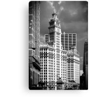 Wrigley Building Chicago Illinois Canvas Print